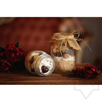 Ръчно изработена свещ KIndy Candles - буркан