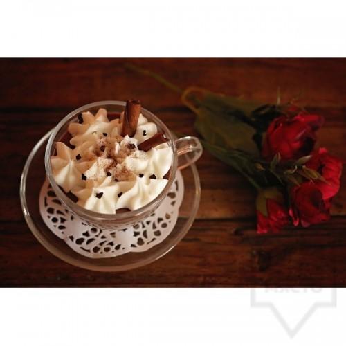 Ръчно изработена свещ KIndy Candles - капучино