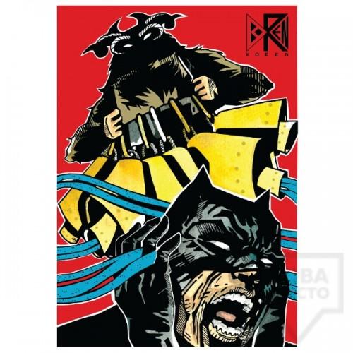 Дамска тениска Koren - Kuker vs Batboy