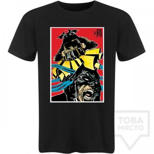 Мъжка тениска Koren - Kuker vs Batboy