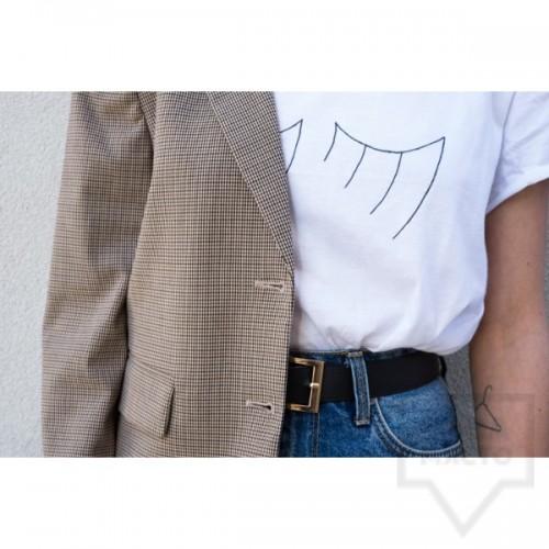 Дамска тениска Кръгче - Мигли