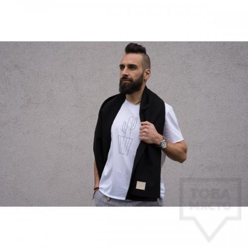 Мъжка тениска Кръгче - Кактус