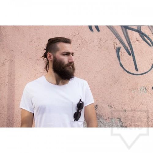 Мъжка тениска Кръгче - Винил