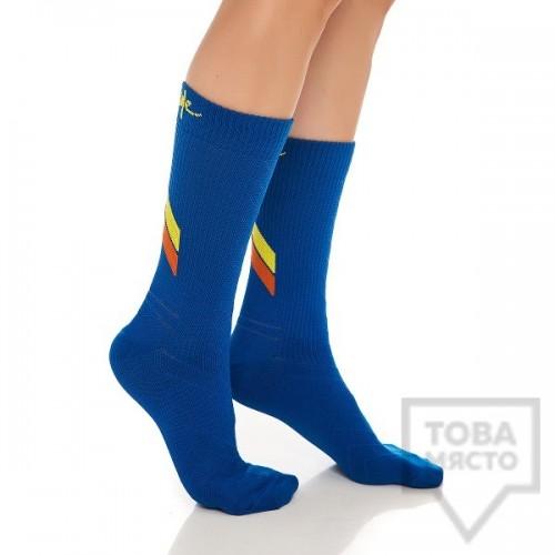 Дамски къси чорапи KrakMe - All active blue