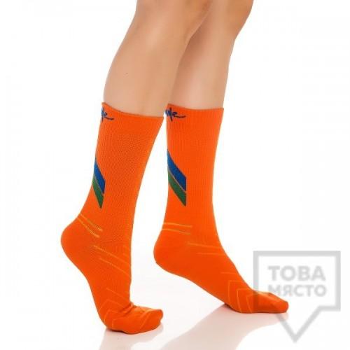 Дамски къси чорапи KrakMe - All active orange