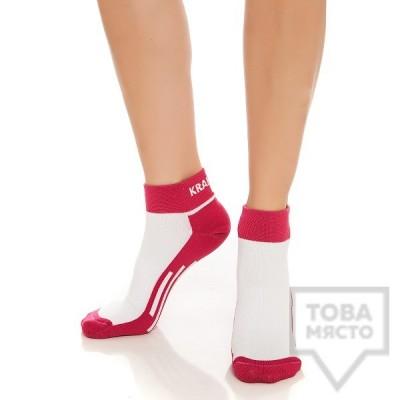 Дамски къси чорапи KrakMe - Duo Yoga Active