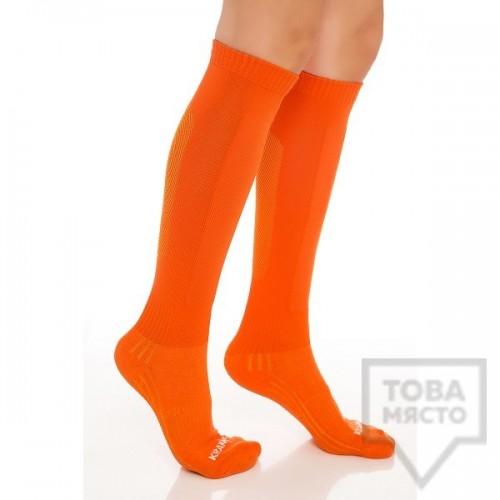 Дамски дълги чорапи KrakMe - TREKKING LADY ORANGE