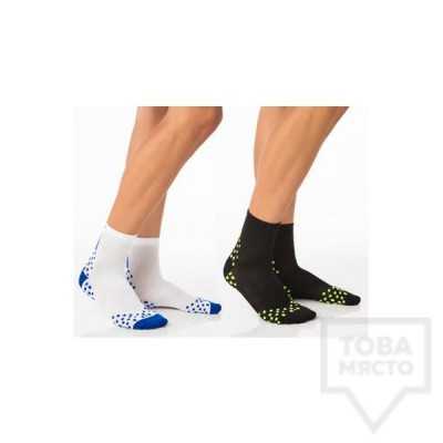 Мъжки къси чорапи KrakMe - SPORT DUO COMPRESS MAN