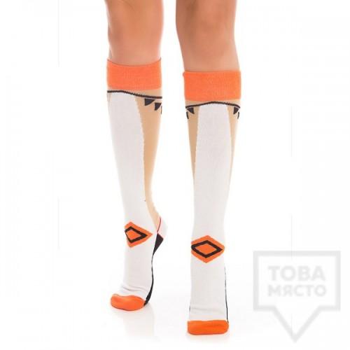 Дамски дълги чорапи KrakMe - Elegant legend