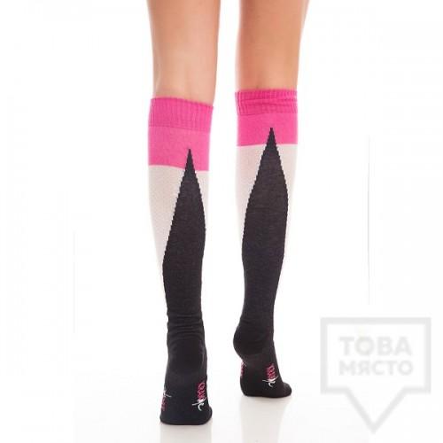 Дамски дълги чорапи KrakMe - Funki Ramp