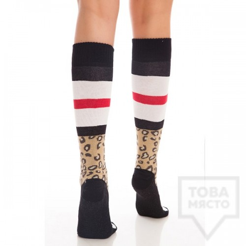 Дамски дълги чорапи KrakMe - Leo