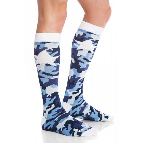 Мъжки дълги чорапи KrakMe - Military star