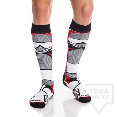 Мъжки дълги чорапи KrakMe - Nindja Strike