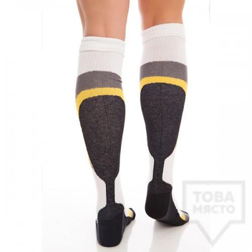 Мъжки дълги чорапи KrakMe - Winter Sun