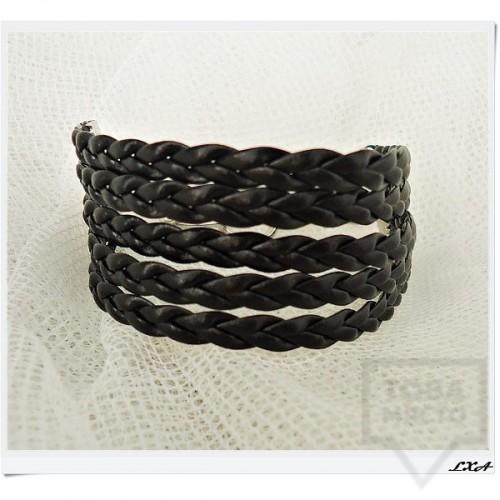 Дизайнерска гривна LXA - Black Knots