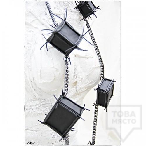 Дизайнерско колие LXA - Cubes