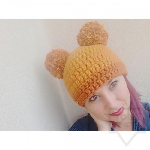 Дизайнерска шапка Lollipop - teddy bear