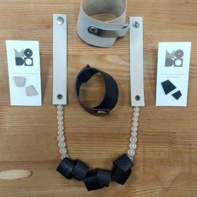 Колие с гривна и обеци MODO - Finest Black