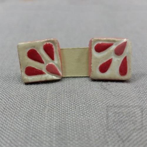 Ръчно изработени обеци Markiza - Rose Petals