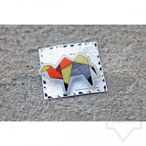 Брошка Mihha - Origami Camel