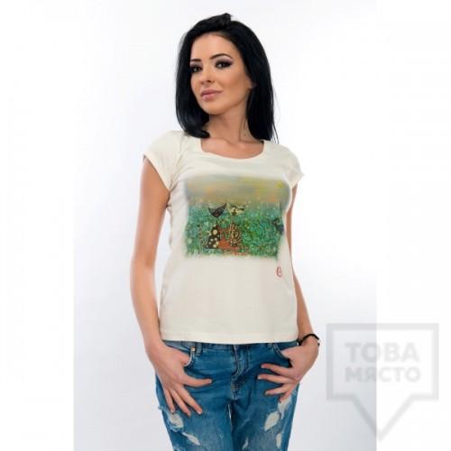 Дамска тениска Whiteberry - cat tales