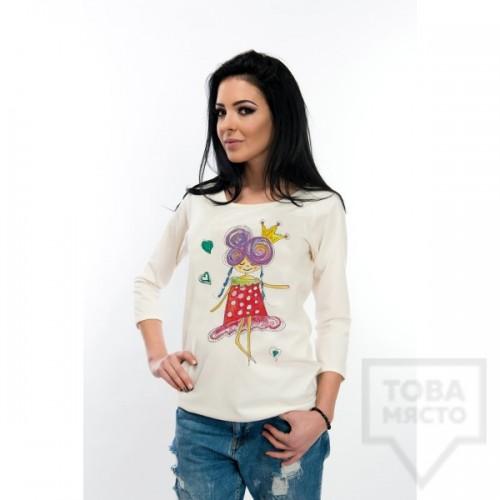 Дамска тениска Whiteberry - the queen