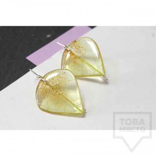 Дизайнерски обеци Nimeria Shop - Everlasting Bouquet - Sun Rays