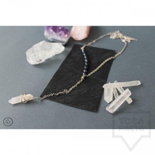Дизайнерско колие Nimeria Shop - Crystal Pendant