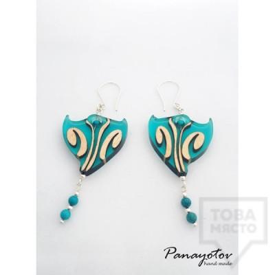 Ръчно изработени обеци Panayotov Handmade - True Minerals
