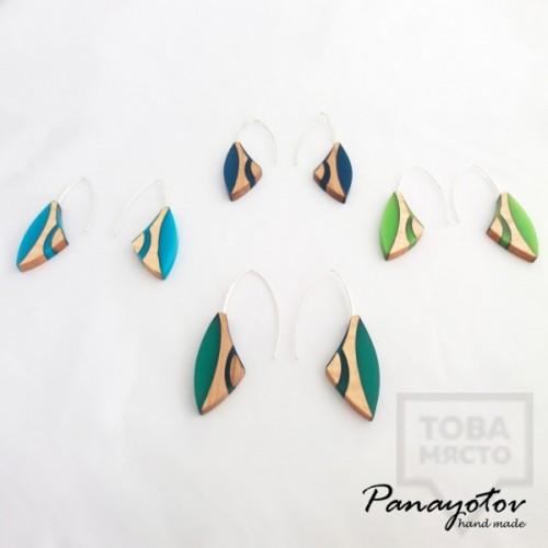 Дизайнерски обеци Panayotov Handmade - Penguins