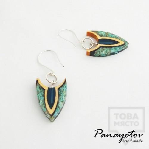 Дизайнерски обеци Panayotov Handmade - Sea Stones