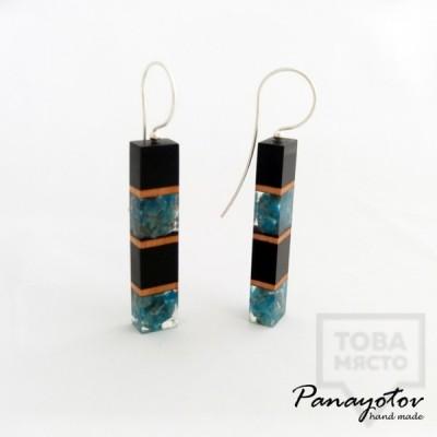Дизайнерски обеци Panayotov Handmade - The Warmest Color
