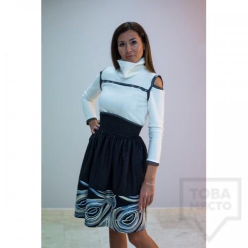 Дамска блуза - Parola swing grey