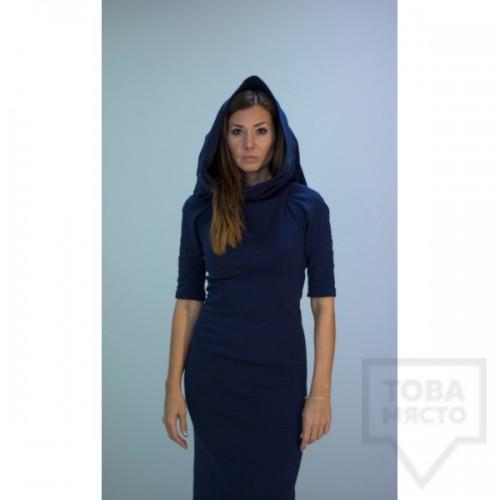 Дизайнерска рокля Parola - holly blue