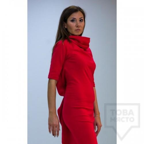 Дизайнерска рокля Parola - holly red