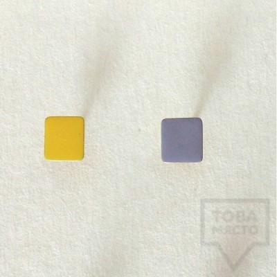 Дизайнерски обеци Polina Dimitrova-colorful touch