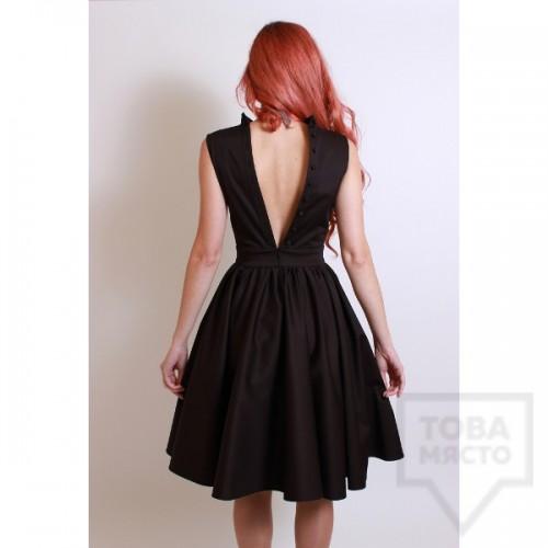 Дизайнерска рокля Polina Petrova - Black V