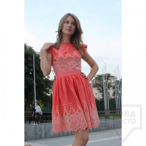Дизайнерска рокля Polina Petrova - Embroidery