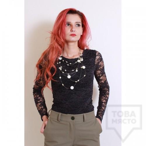 Дизайнерска блуза Polina Petrova - pretty lace