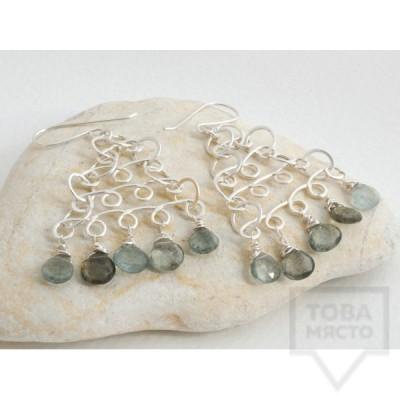 Сребърни обеци Songe Jewerly - Нефертити