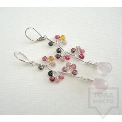 Ръчно изработени обеци Songe Jewelry - Tenderness