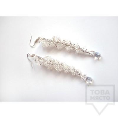 Ръчно изработени обеци Songe Jewelry - Waterfall