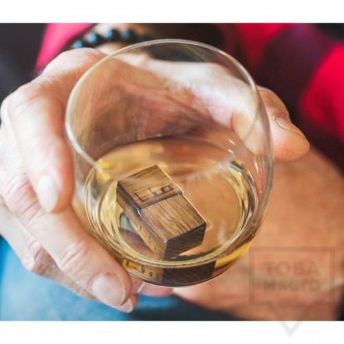 Дъбови кубчета за уиски WooWhiskey