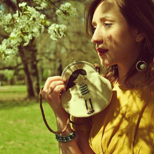 Дизайнерска чанта Zaiot - Blossom