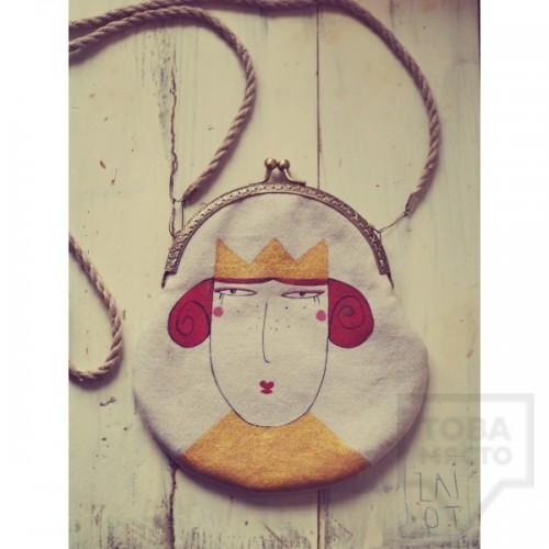 Дизайнерска чанта Zaiot - Queen