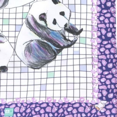 Шал asakapop - panda