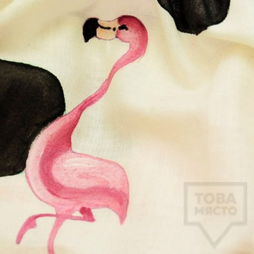 Луксозно дамско бельо Beti - фламинго