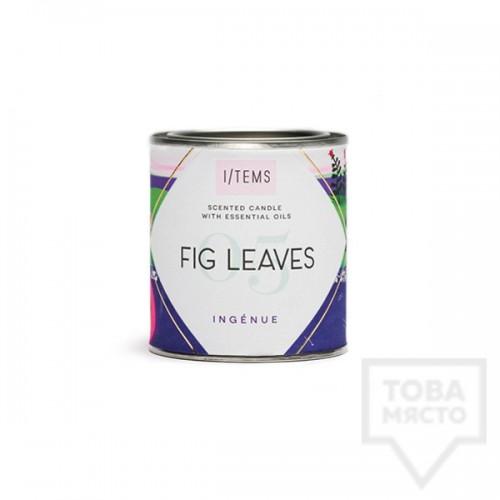 Луксозна ароматна свещ I/TEMS - Fig Leaves