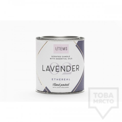 Луксозна ароматна свещ I/TEMS - Lavender