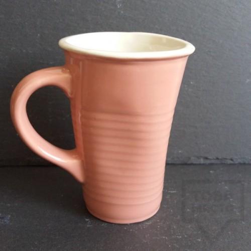 Ръчно изработена порцеланова чаша Korchev Design Studio - big baby pink can
